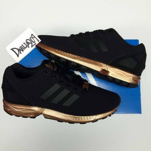 chaussure adidas noir dore