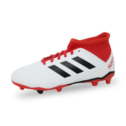 chaussure adidas foot blanche rouge