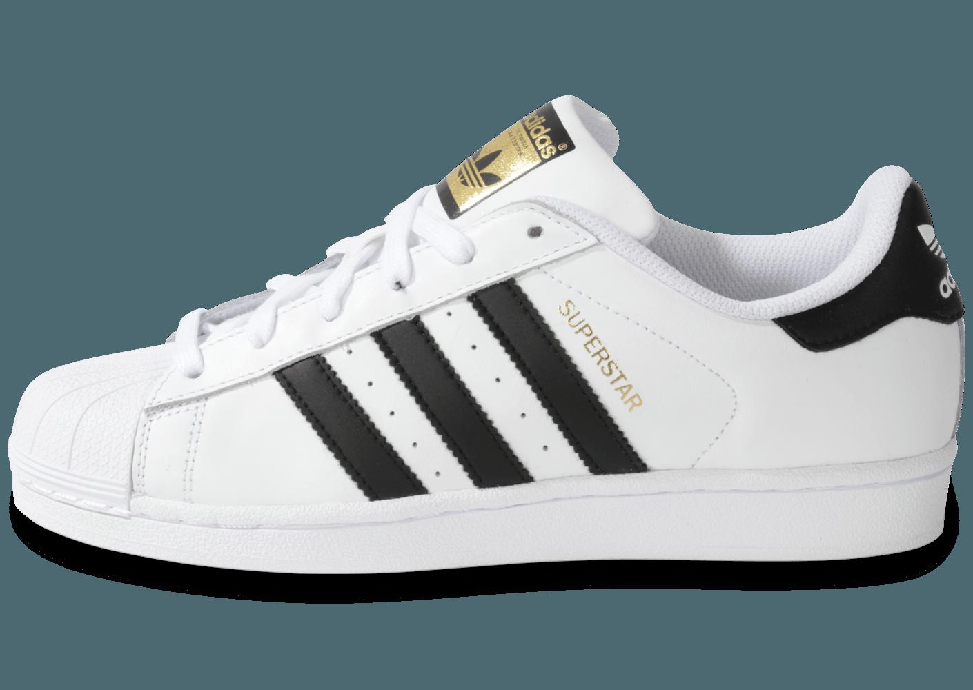 adidas superstar femme noir et blanche