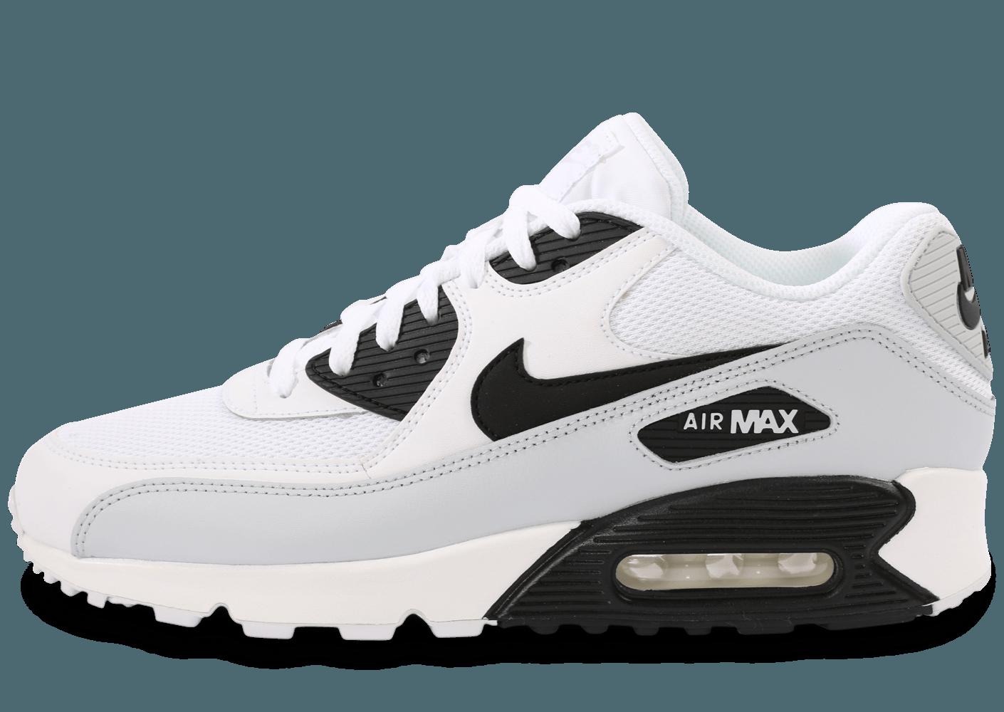 air max blanche noir