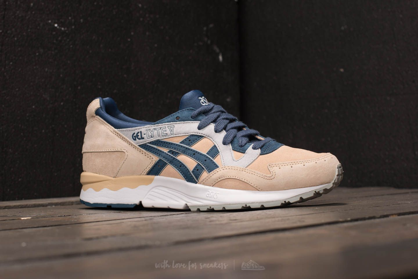 Nouvelle Collection ASICS TIGER GEL PTG EN DAIM MARZIPAN